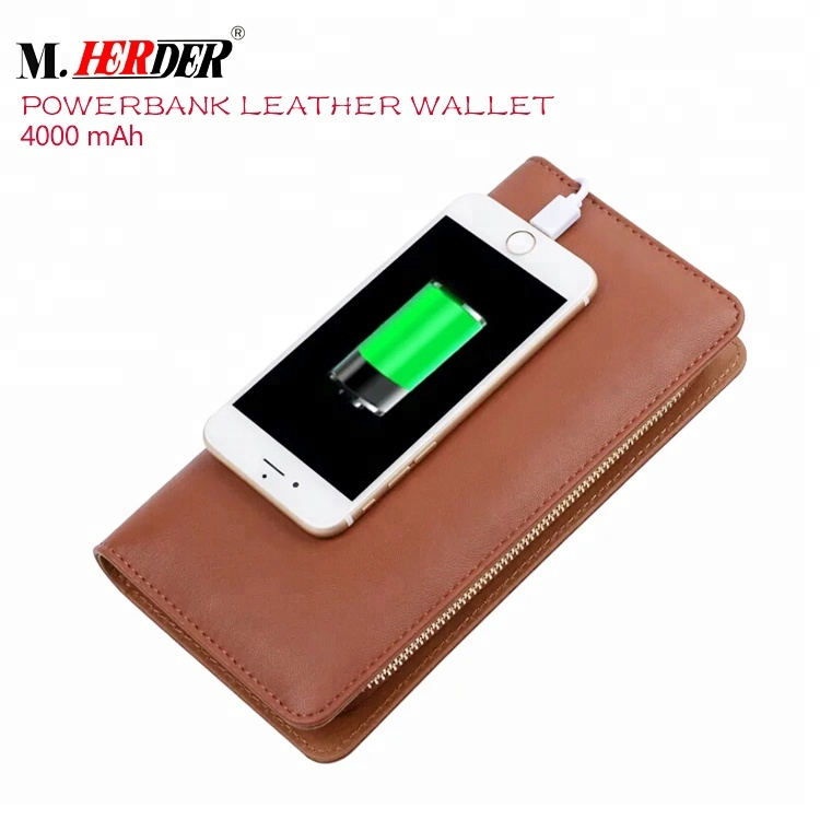Newest wireless charging <strong>wallet</strong> smart citi trends travel <strong>wallet</strong> with power bank