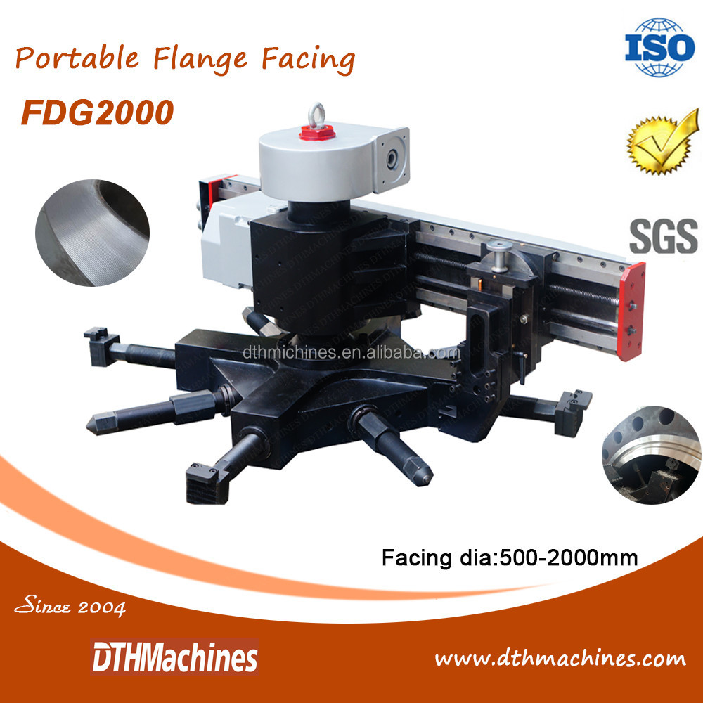 portable lapping machine flange cutter