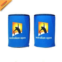 2018 Factory Price 3.5Mm Neoprene Collapsible Drink Foldable Stubby Holder For 330Ml Can/ Bottle