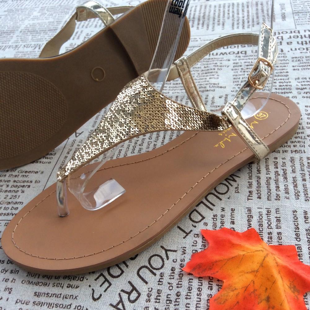 9c513374077f Summer Hot Fashion Ladies Women s Flat Fancy Slide Beach Sandals ...