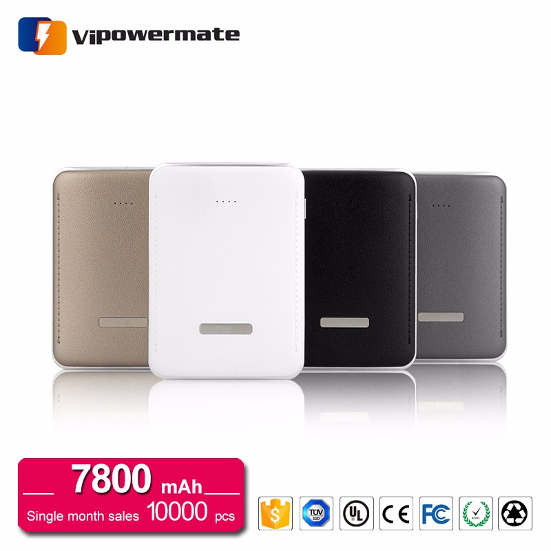 Top Selling High Quality Leather Ambrane Original Power Bank 2017 10000mAh