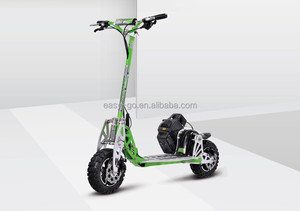 Uberscoot 2 wheel foldling evo 71cc epa gas scooter with CE certificate hot on sale