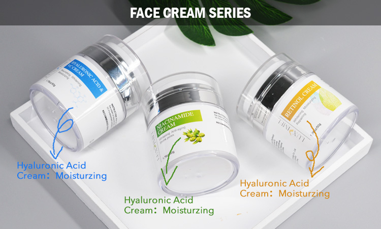Korean Skin Day And Night Effective Lightening White Face Whitening Formula Hyaluronic Acid Vitamin C Cream