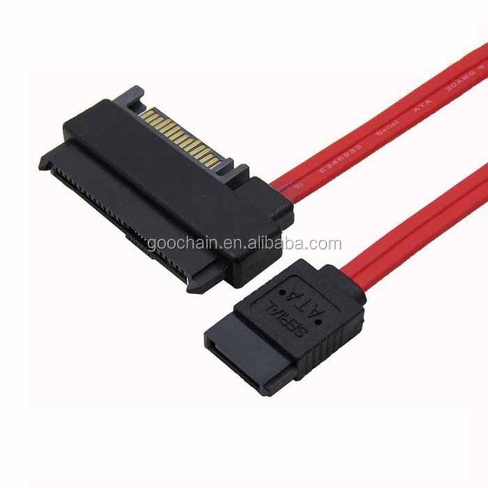 0.5M SATA to SAS HDD SFF-8482 SAS Ports Data Cable Plus 15Pin Power Connector PL