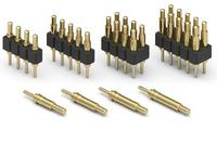 Brass Spring Loaded Contact Pogo Pin For Pcb