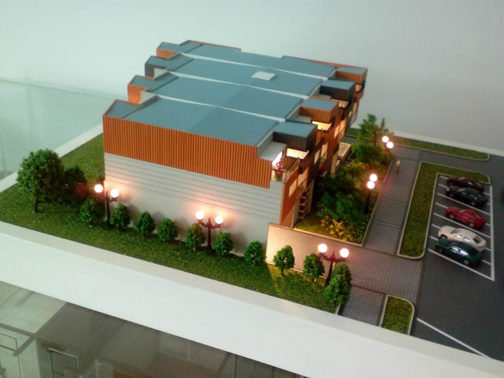 Making of model house