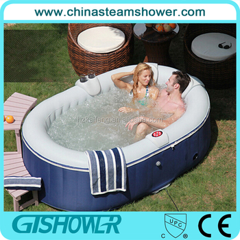 Charmant 2 Person Portable Inflatable Hot Tub With Air Bubble