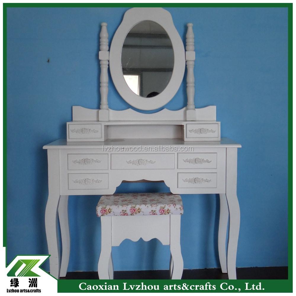 aparador de madera muebles de dormitorio tocador tocador