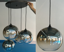 Modern hanging glass round ball pendant Lamp /chandeliers & pendant lights