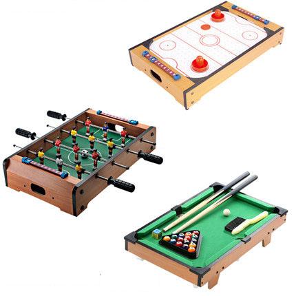 d67b82fd4 Melhor Jogo de Combinação Brinquedo Conjunto Incluindo Mini Air hockey de  Mesa Futebol de mesa e
