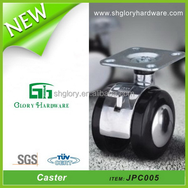 Durable Small Free Sample 2016 Best Stock Supplier Chair Leg Casters