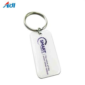 Custom metal 2d keychain buy keychains souvenir keyring with your logo