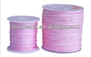 Imitation Slik Woven braided Nylon Jewelry Bead Cord