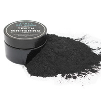 60g 45g Wholesale Activated Charcoal Teeth Whitening Powder with Private Label