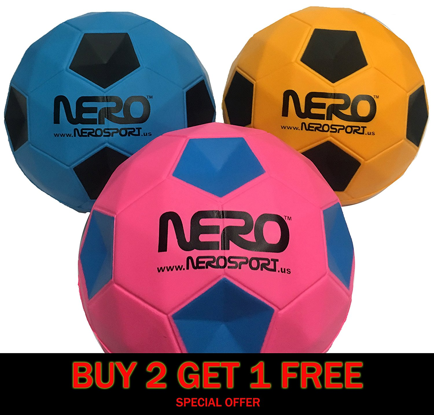 INGEAR Nero NS-R12 Rubber High Bounce Agility Toy Ball 4.7 inch Our Biggest High Bounce Ball Yet Great For the Streets Playground Park Back Yard Agility Ball Bulk Price Birthdays Summer Ball