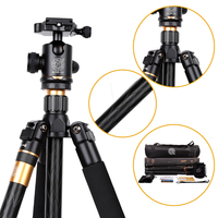 Q999 Professional fluid head aluminum video camera tripod,1590mm digital and slr camera tripod free shipping 666