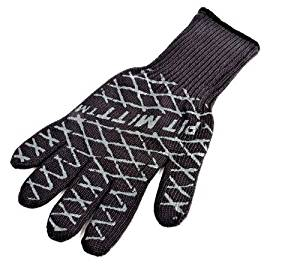 """Charcoal Companion Ultimate Barbecue Pit Mitt - For Grill or Oven - Measures 13"""" Long - CC5102. by Charcoal Companion"""
