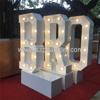 Cheap! Hot sale high quality led marquee letter, events & party decoration led letter lights from Phaeton Development