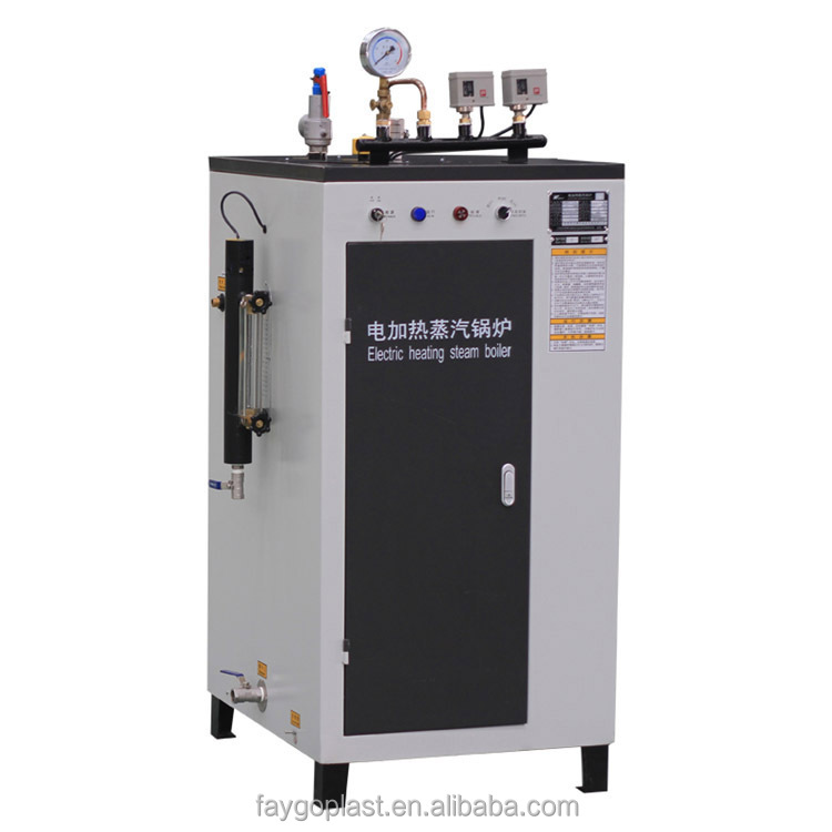Gas steam boiler for power generation
