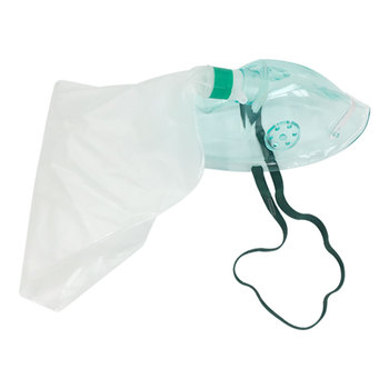 Portable Neonate Oxygen Mask With Reservoir Bag