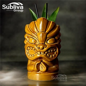 850mm hot sale tiki hand mug with hand design tiki mug