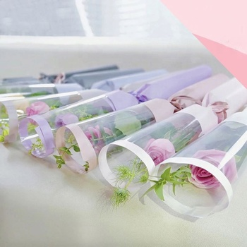 Excellent quality plastic flower pot sleeves for retail packaging