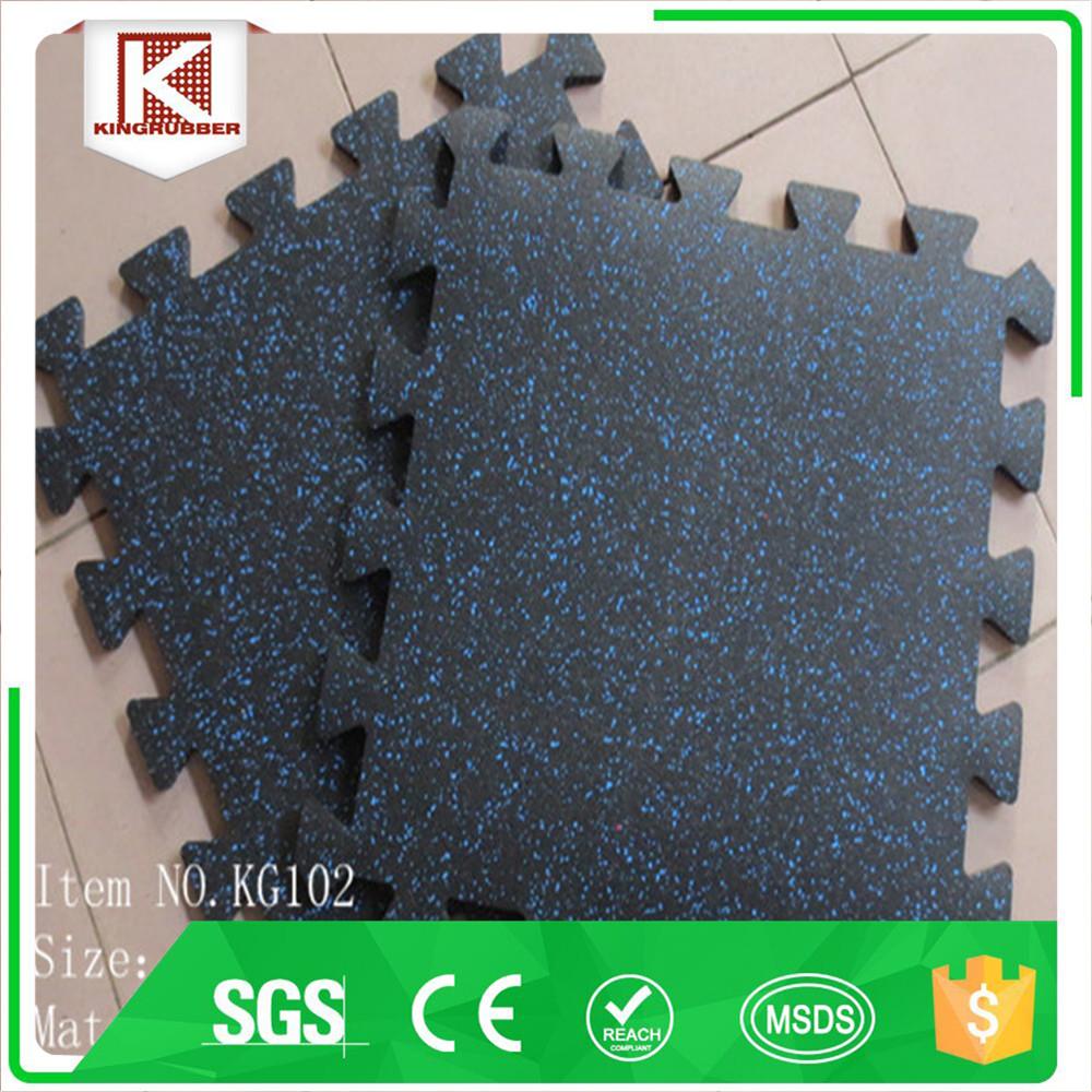 Rubber floor mat jigsaw -