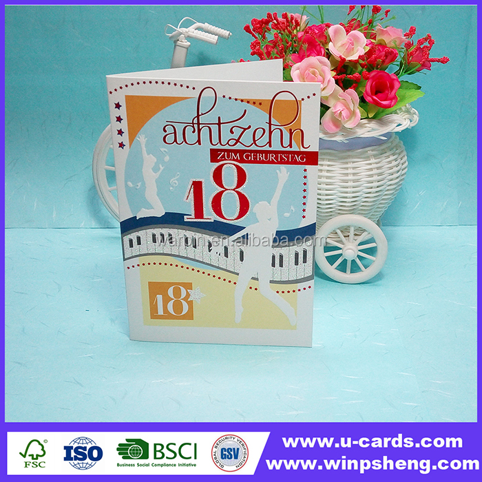 18 Birthday Cards 18 Birthday Cards Suppliers And Manufacturers At