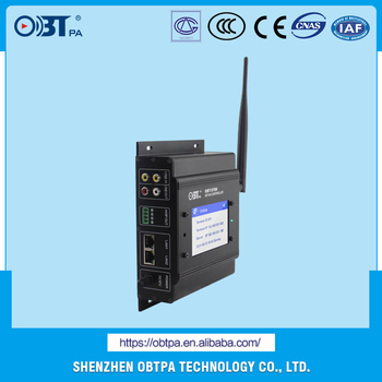 Sip Public Address Pa Background Music Bgm System Sip Audio Adapter Sip Ip  Pas Wall Mount Terminal Controller Obt-9709 - Buy Sip Audio Adapter Sip Ip