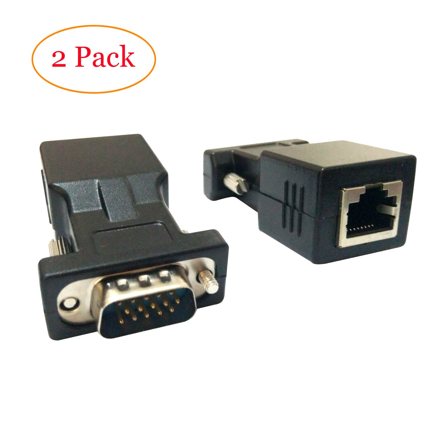 Cheap Vga Cat5 Cable Find Deals On Line At Alibabacom Wiring Connectors Get Quotations Extender Adapter Cat6 Rj45tongbao Tob33 15 Pin Male To