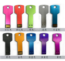 mini new metal key shape 8gb usb flash, low cost mini 8gb usb flash drive