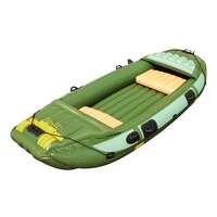 portable folding fishing boat 3 person inflatable boat for water sports