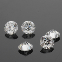 excellent diamond cut 1.5mm round small size loose lab-created cvd diamond hpht gemstones price