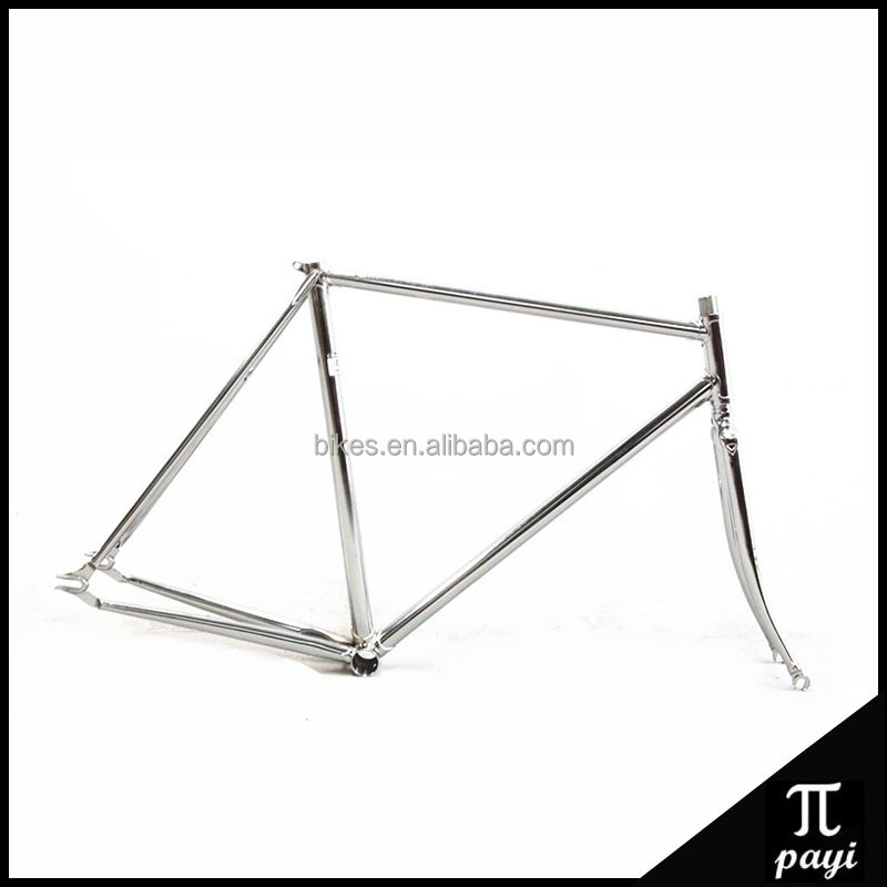 Chromium-molybdenum Steel Retro Lug 700C Fixed gear bike frame Bicicletas Bike Parts Fixie Light Weight Fixed Bicycle Frame