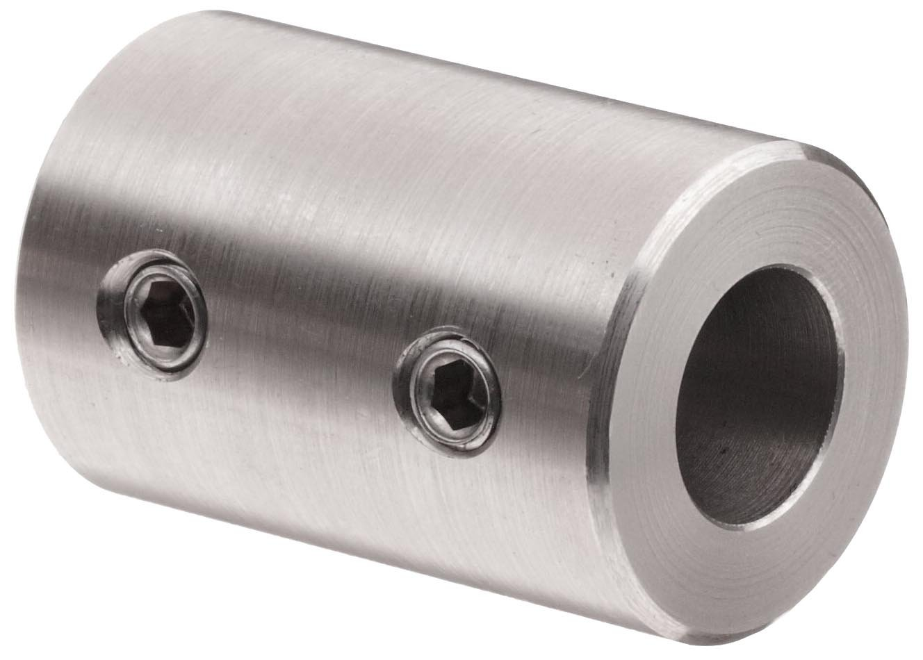 0.750 Bore Boston Gear CR16 Shaft Coupling One Piece Type 3.000 Overall Length Rigid 2.000 Outside Diameter