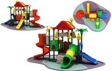 Chinese good quality trustworthy outside playground structures