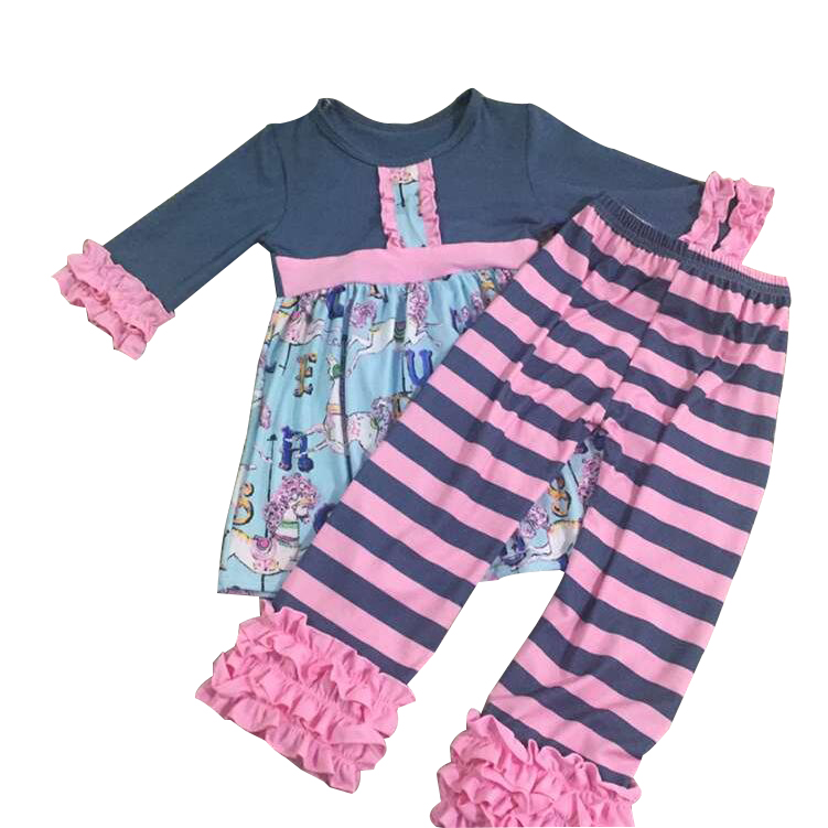 New branded kids clothes 2016 hot sale girls remake outfits clothing sets