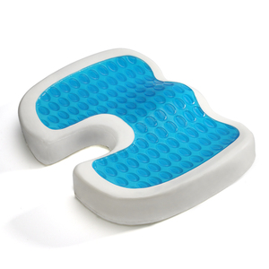 Wholesale Perfect Posture Prostate Wheelchair Silicone Cooling Coccyx Memory Foam Orthopedic Gel Car Seat Cushion