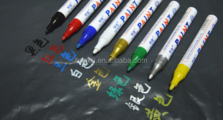 plastic nylon tip 18 colors water based ink paint marker pen for art drawing