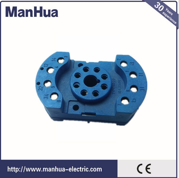Manhua Online Shopping 11 Pin Relay Socket