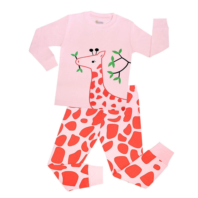c70353c0f66a Get Quotations · Kateirmaso New Brand Baby Cotton Sleepwear Boys Pyjamas  Girls Clothing Kids Pajama Set Long Sleeve Pajamas