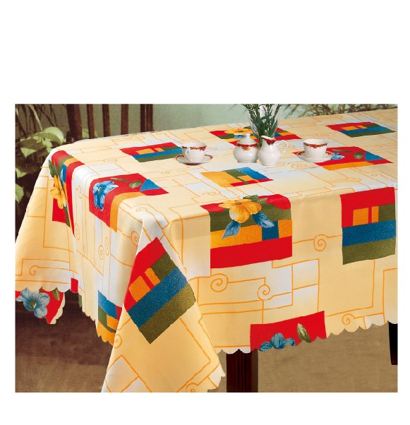 1PC Various Printed PVC Table Cloth