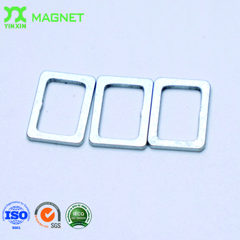 name badge magnetic back rare earth neodymium 10000 gauss super strong industrial magnet