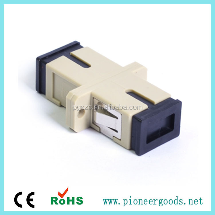 SC/PC Multimode Duplex fiber optical adapter