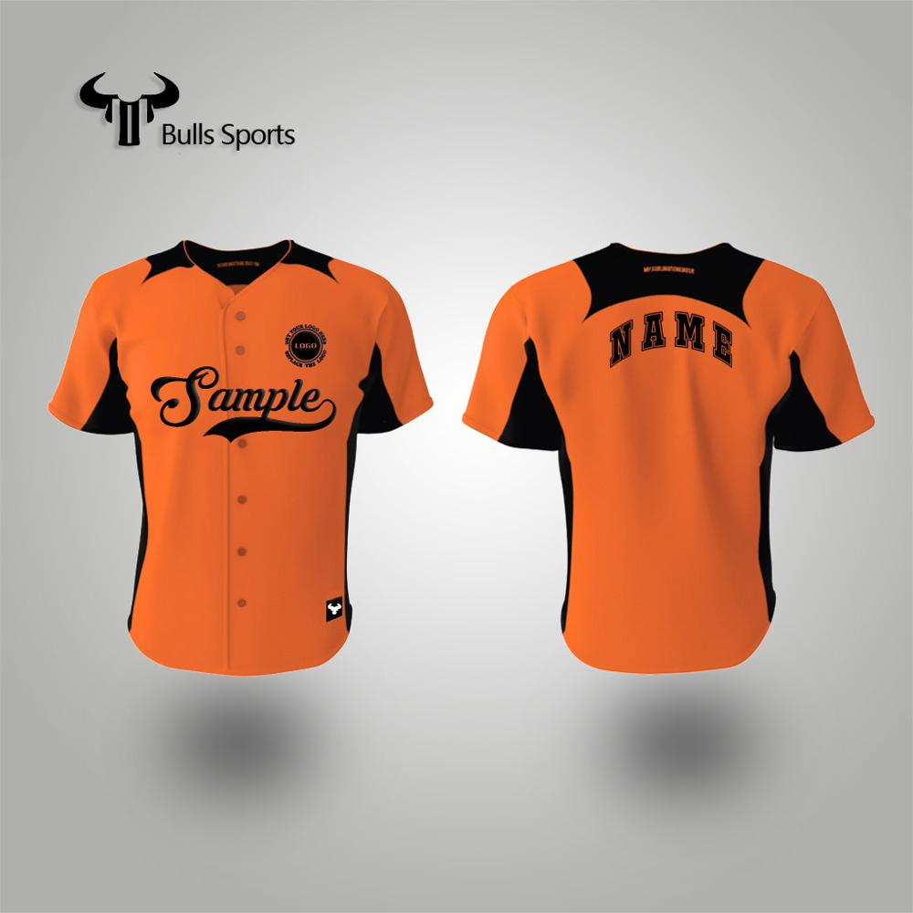 2017 custom sublimation colorful baseball jersey shirt