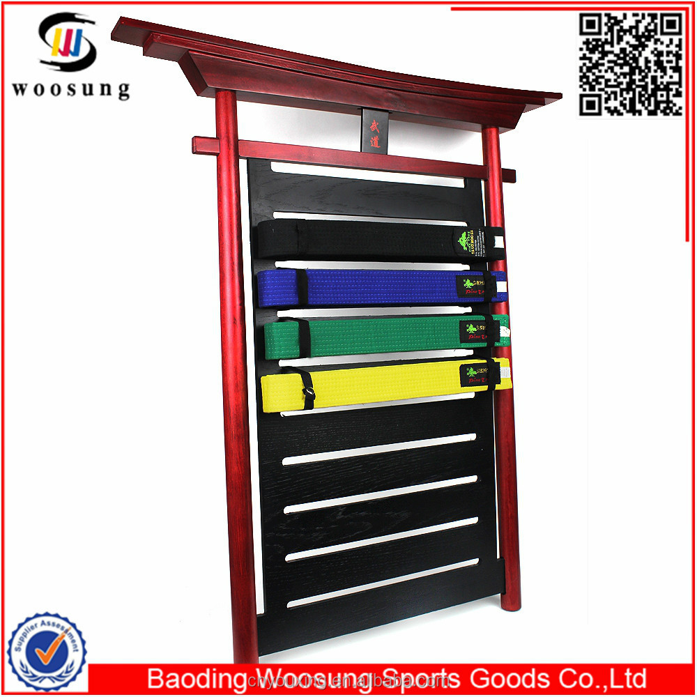 2015 martial arts ten level martial arts karate belt display