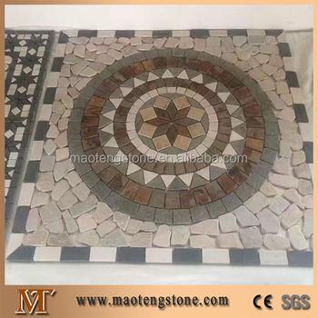 sterne kompass runde muster stern kompass runde muster granit pflasterstein - Pflastersteine Muster Bilder