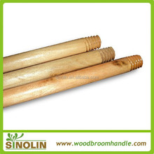 Factory direct sell wooden mop sticks with varnished