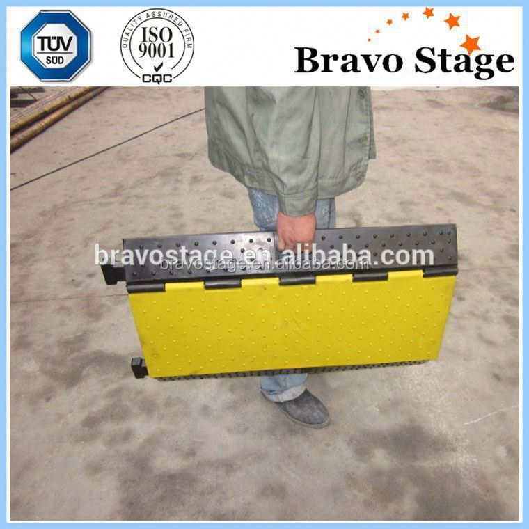 Hot Sale Type Durable Yellow Ramp Loading Ramp Rubber Car Ramps