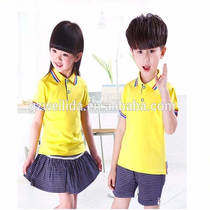 Girls School Uniform Ages 3-10 Years 5x Premuim Quality Blue Polo Shirts Tops